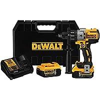 DEWALT 20V MAX XR 3-Speed Brushless Hammer Drill Kit
