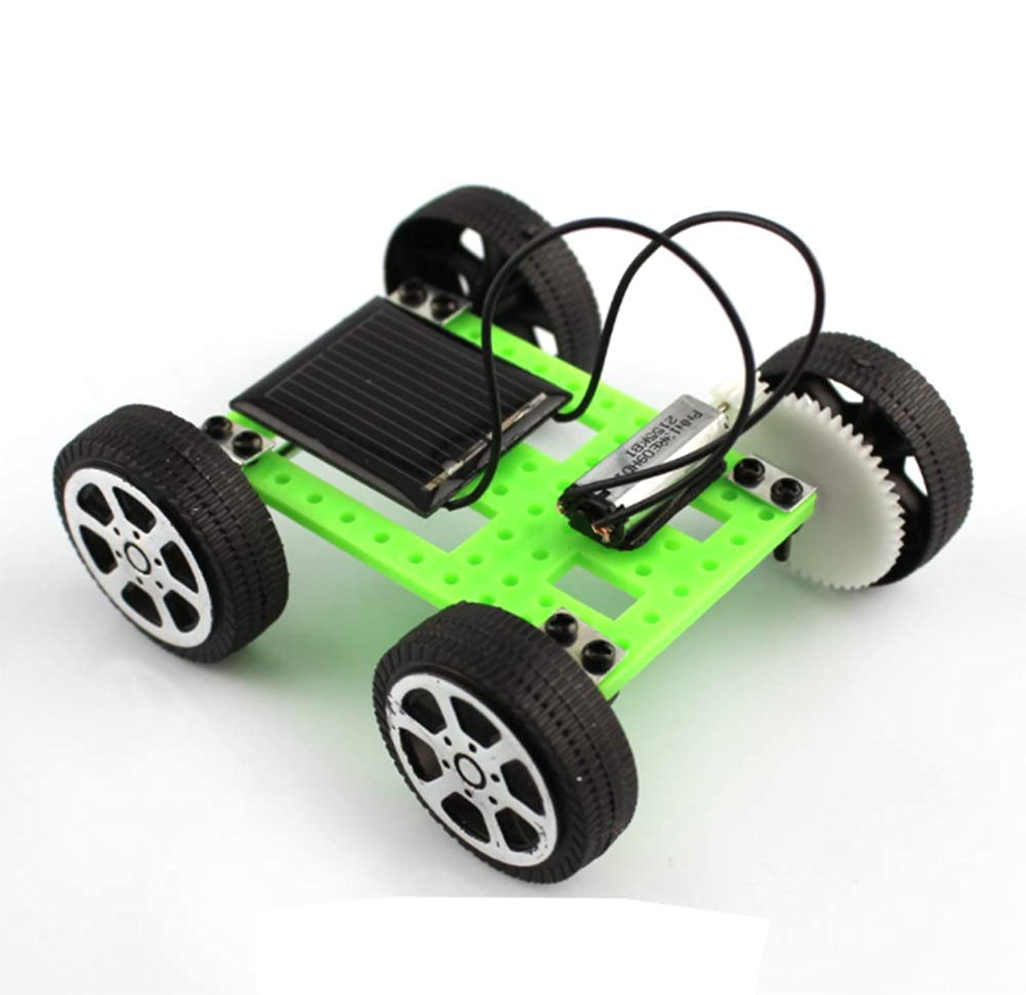 aiyuyu Solar and Wireless Remote Control Car Robotics Creative Engineering Circuit Science Stem Building Kit - Hybird Power for Electric Motor - DIY Experiment for Kids, Teens and Adults fskplpiyovx89