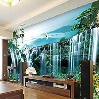 Empty カスタム壁画壁紙3Dクールナイトクラブフラワーペンタグラム幾何学的フレスコレストランバーKTV背景壁の装飾3Dアート壁画-450x300CM