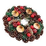 Wakauto Corona de Adviento de Navidad Calendario de Adviento Temporada...