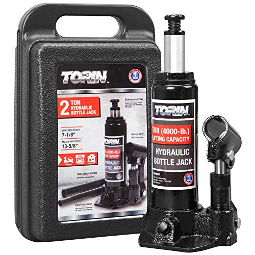 Torin TAM90203S Hydraulic Welded Bottle Jack with Blow Mold Carrying