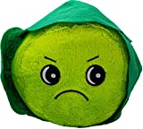 DOG LIFE LARGE 20 CM GRUMPY GREEN SPROUT SOFT PLUSH DOG PUPPY TOY