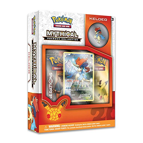 Pokemon Cards Pokemon TCG: 2016 Mythical Pokemon Pin Collection—Keldeo