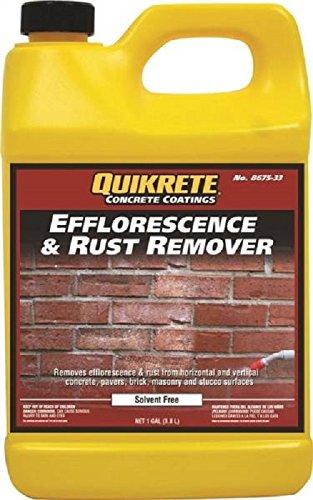 QUIKRETE 8675-33 Concrete Efflorescence Oil Rust Removes