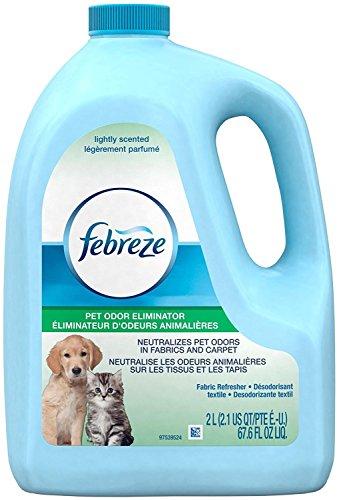 Febreze Fabric Refresher Pet Odor Eliminator Air Freshener (1 Count, 67.6 FL Oz), 4.409 Pound -  97582