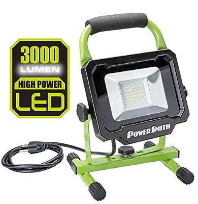 PowerSmith PWL110S 1080 Lumen LED Work Light Stand