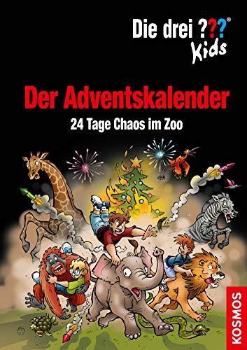 Die drei ??? Kids, Der Adventskalender (drei Fragezeichen Kids): 24 Tage Chaos im Zoo