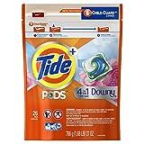Tide Pods Plus Downy He Turbo Laundry Detergent Pacs April Fresh, 26 ct