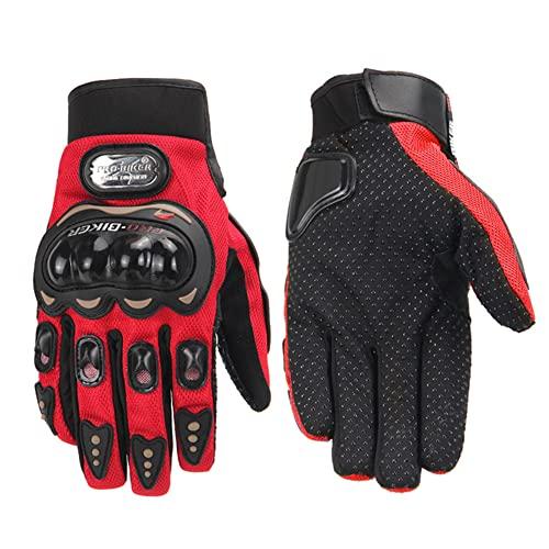 Guanti da moto Guanti impermeabili Guanti da moto con dita intere Protezione touch screen Guanti lunghi in fibra di carbonio Guanti invernali-a47-XL