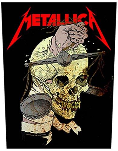 Metallica Rückenaufnäher Harvester of Sorrow offiziell Nue Schwarz Woven (36cm x