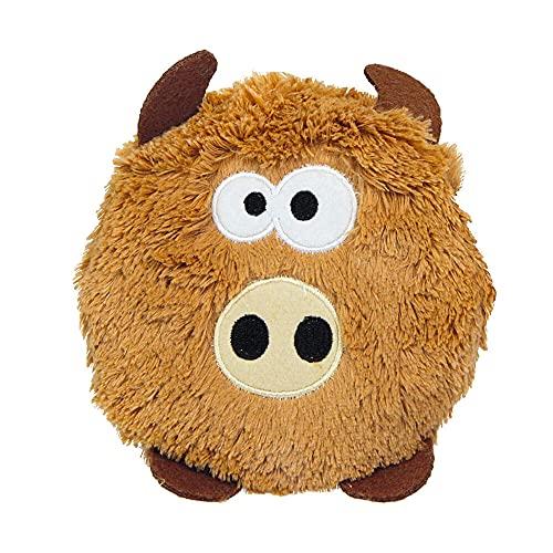 Doudou en forme de tête de chèvre pour chien - 3 choix