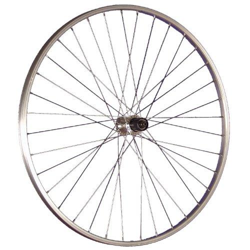 Taylor-Wheels 28 Zoll Hinterrad Alufelge/Shimano TX500 Nabe 7/10-fach - Silber