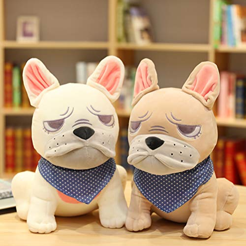 9.84'Soft Plush Toys, French Bulldog Puppy Stuffed Animal Pillow, Best Gifts for Girl Boy