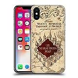 Head Hülle Designs Offiziell Zugelassen Harry Potter The Marauder's Map Prisoner of Azkaban II Harte Rueckseiten Handyhülle Hülle Huelle kompatibel mit Apple iPhone X/iPhone XS