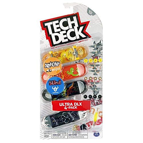 Tech Deck Ultra DLX 4-Pack Finger Boards [Almost Enjoi and Blind Darkstar]