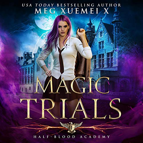 Page de couverture de Magic Trials