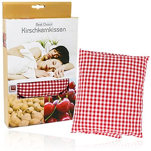 Selldorado® Kirscherkernkissen 20 x 30 cm Wärmekissen Wärmekompresse Körnerkissen Kirschkernsack Kirschkern Kissen für Kinder Erwachsene ideal als Massagekissen Kältekissen