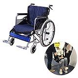 Cintura Sollevare la Tavola scorrevole per sedia a rotelle trasferimento cinghia sedia evacuazione Cinture sicurezza Imbottitura sollevamento tutto corpo per paziente anziani handicap - 4 maniglie