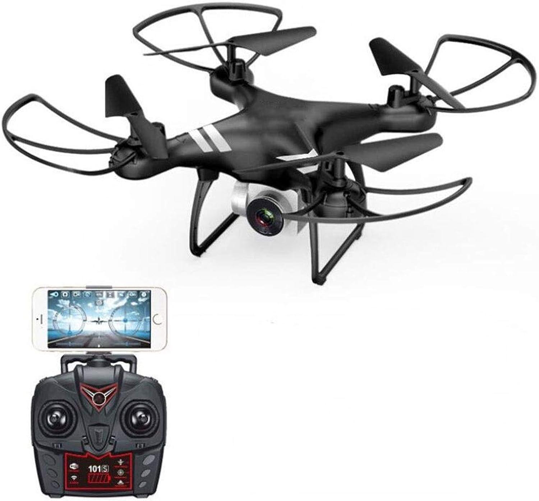 estar en gran demanda Drone Aviones de 4 Ejes, Transmisión de mapas de de de Alta definición WiFi Fijos-flotantes Flotador Aéreo 3D Que Vuela Aviones de Control Remoto (Color   Negro)  más descuento