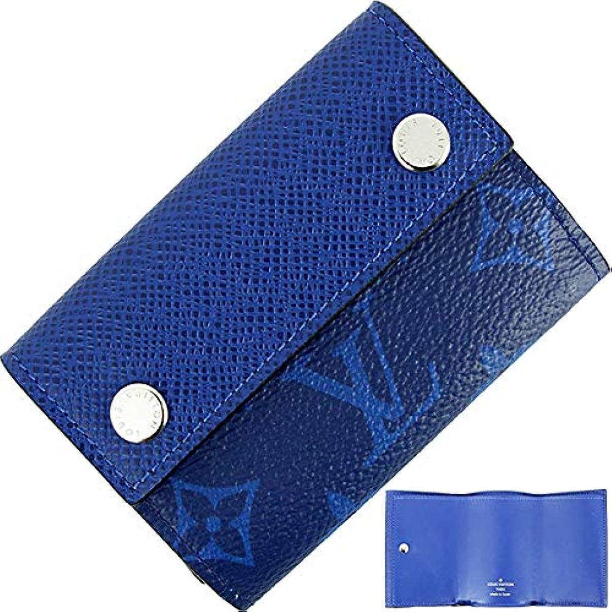 コレクション乳証明[ルイヴィトン] ディスカバリーコンパクトウォレット タイガラマ コバルトブルー M67620 三つ折り財布 [並行輸入品]