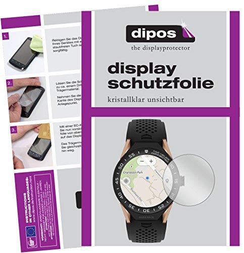 dipos I 6X Protector de Pantalla Compatible con Tag Heuer Connected Modular 45 pelicula Protectora Claro