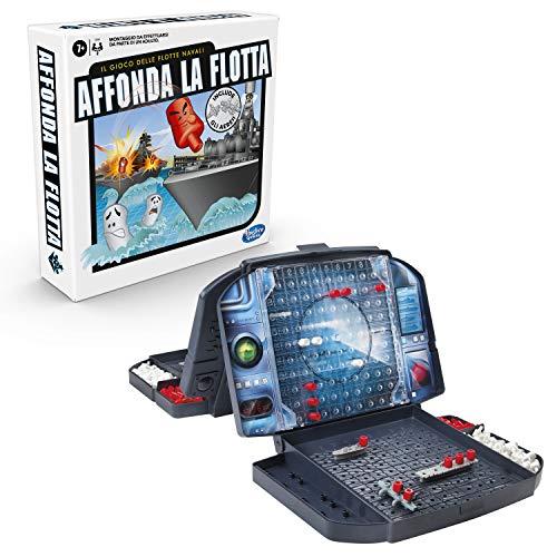 Hasbro Gaming- Affonda la Flotta con Gli Aerei Gioco di Strategia, Multicolore, C3890103