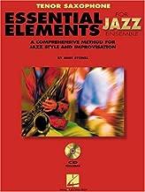 Essential Elements For Jazz Ensemble Tenor Saxophone Method Book/Online Media (Instrumental Jazz)