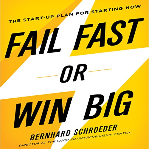 Fail Fast or Win Big audiobook cover art