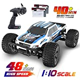 DEERC RC Cars 1:10 Scale Large High Speed Remote Control Car for Adults Kids,...