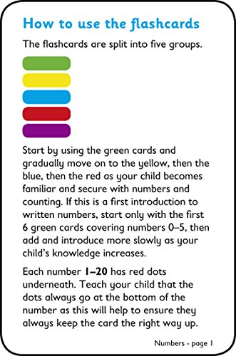 Numbers Flashcards: Ideal for home learning (Collins Easy Learning Preschool)