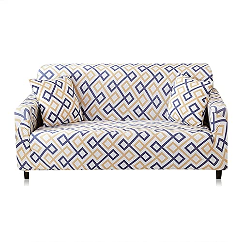 MKQB Funda de sofá elástica Moderna, Funda de sofá Modular de Esquina para Sala de Estar, Funda de sofá de protección para Mascotas Envuelta herméticamente NO.6 XL (235-300cm)