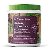 Amazing Grass Green Superfood Antioxidant Organic Powder with Greens & Acai, Flavor: Sweet