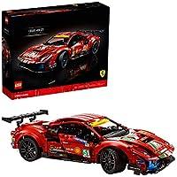 Lego Technic Ferrari 488 GTE 42125 Racing Car Building Kit (1677-Pieces)