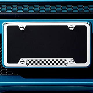 Best checkerboard license plate frame Reviews