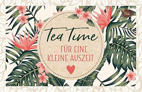 Tea Time ... für eine kleine Auszeit: Teekarte