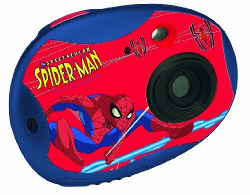 Lexibook DJ015SP, Spiderman Fotocamera digitale, 300K pixels [Importato da Francia]