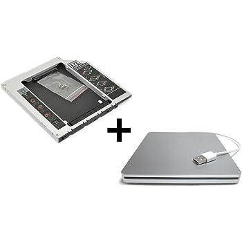 TheNatural2020 HDD/SSD Adaptador Compatible con MacBook (Pro) 13 ...