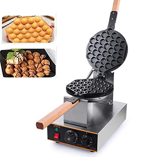 Bubble Waffle Maker Electric 220V Eggettes Maker Stainless Steel 180 °...
