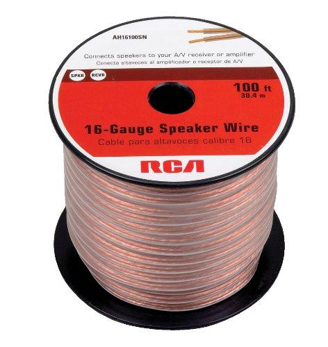 RCA AH16100SR 100 Ft. 16-Gauge Speaker Wire