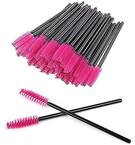 Sunnysam 100 pennelli per Ciglia Mascara, Strumenti USA e Getta per Applicare l olio di ricino sulle Sopracciglia