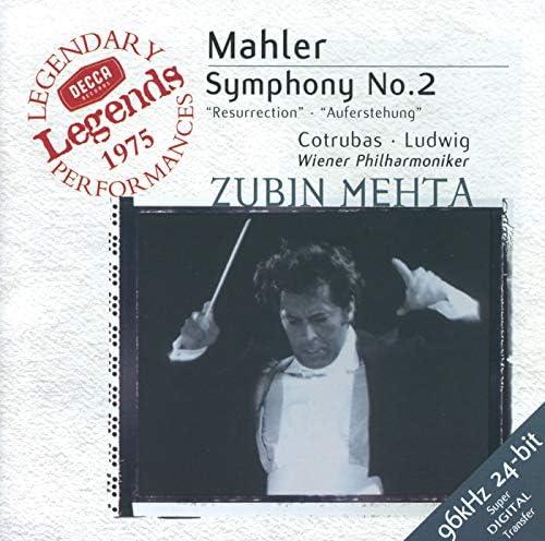Wiener Philharmoniker, Christa Ludwig, Zubin Mehta, Ileana Cotrubas, Wiener Staatsopernchor & Gustav Mahler