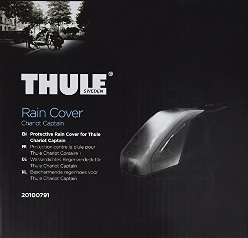 Best Deals! Thule th20100791 Case for The Rain, Unisex Adult, Carbon, Single