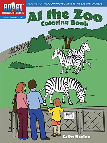 BOOST At the Zoo Coloring Book (BOOST Educational Series)