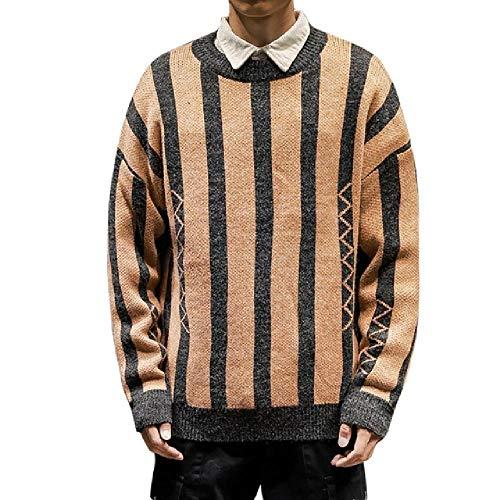 Hombres Suéter Otoño Pullover Manga Larga Suéteres Hombre Casual Poliéster O-Cuello Deporte Masculino