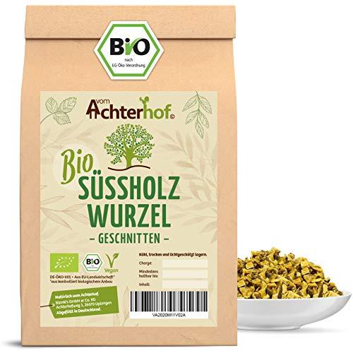 Süßholzwurzel Tee BIO (500g) | Süßholzwurzeltee | Süßholz-Wurzel getrocknet geschnitten enthält Lakritz