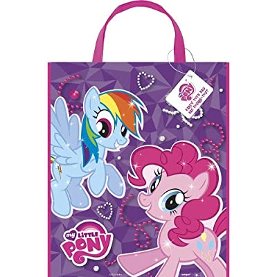 Package of 12 Large Plastic My Little Pony Goodie Bags