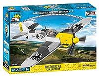 Cobi Historical Collection #5715 メッサーシュミット Bf-109F-2 (WWIIドイツ軍)【ミリタリーブロックーCOBI 日本正規総代理店】