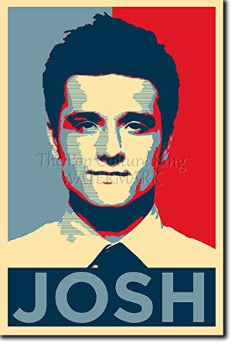 TPCK Josh Hutcherson Kunstdruck (Obama Hope Parodie) Hochglanz Foto Poster - Größe: 60 x 40 cm