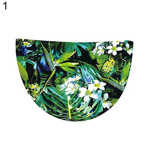 XdiseD9Xsmao Multifunctionele Zomer Vrouwen Bloem Print Ronde Strandhanddoek Tafelkleed Wandopknoping Tapestry Sjaal Mat Bikini Cover Up 1#