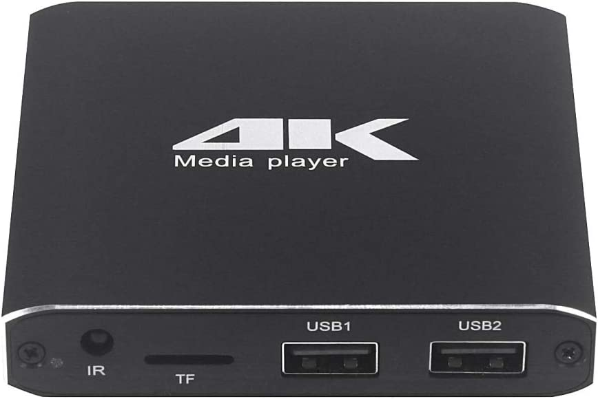 LIHAOD-US 4K HD Player Exclusive AD (Color : UK)